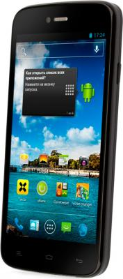 Смартфон Fly IQ4411 Quad Energie 2 (Black) - общий вид
