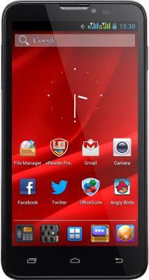 Смартфон Prestigio MultiPhone 5300 Duo (черный) - общий вид