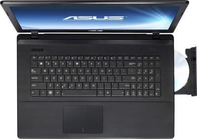 Ноутбук Asus X75VC-TY056D - вид сверху