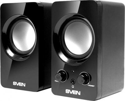 Мультимедиа акустика Sven 354 (черный) - общий вид