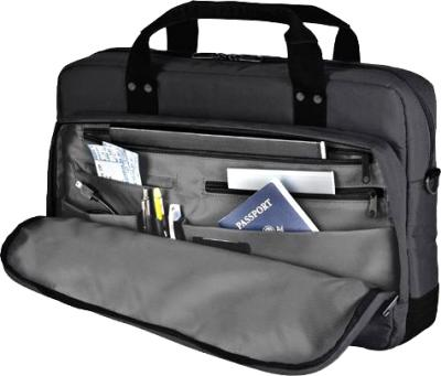 Сумка для ноутбука Dell Half Day Toploader Carrying Case 460-11804 (Black) - карманы