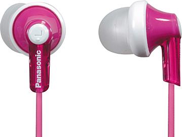 Наушники Panasonic RP-HJE118GUP (розовый) - общий вид