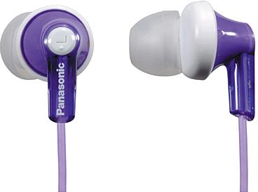 Наушники Panasonic RP-HJE118GUV (Purple) - общий вид