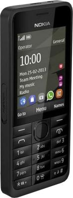 Мобильный телефон Nokia 301 (Black) - общий вид