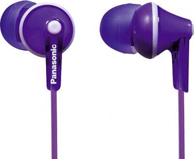 Наушники Panasonic RP-HJE125E-V (фиолетовый) - общий вид