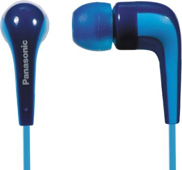 Наушники Panasonic RP-HJE140E-A (Blue) - общий вид