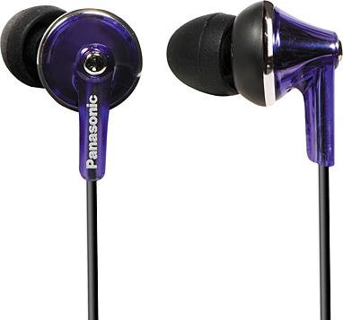 Наушники Panasonic RP-HJE190E-V (Purple) - общий вид