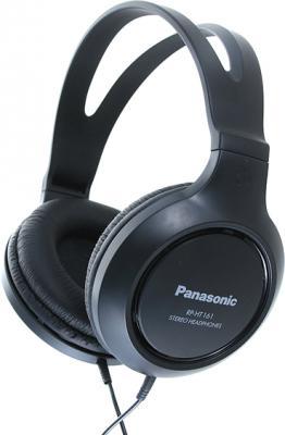 Наушники Panasonic RP-HT161E-K (черный) - общий вид
