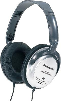 Наушники Panasonic RP-HT223GU-S (серебристый) - общий вид