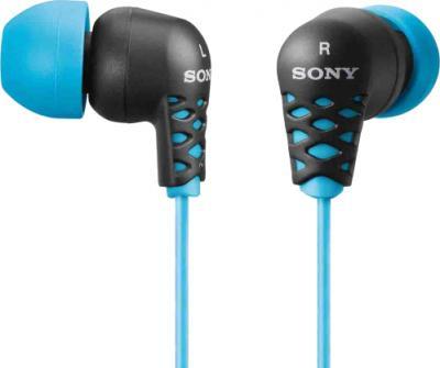Наушники Sony MDR-EX37BL (Blue) - общий вид