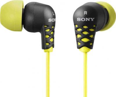 Наушники Sony MDR-EX37BY (Yellow) - общий вид