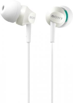 Наушники Sony MDR-EX50LPW (White) - общий вид