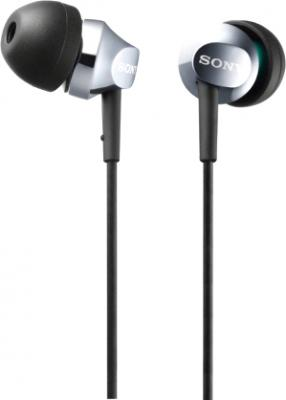 Наушники Sony MDR-EX50LPS (Silver) - общий вид
