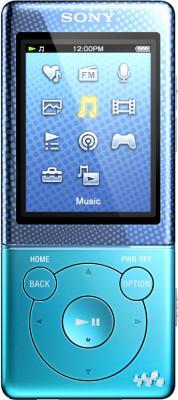MP3-плеер Sony NWZ-E474L (Blue) - общий вид