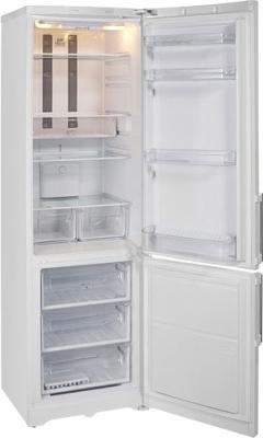 Холодильник с морозильником Hotpoint HBT 1201.4 NF H - с открытой дверью