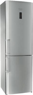 Холодильник с морозильником Hotpoint HBT 1201.4 NF S H - общий вид
