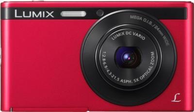 Компактный фотоаппарат Panasonic DMC-XS1EE-R (Red) - фронтальный вид