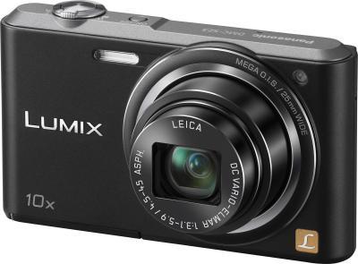 Компактный фотоаппарат Panasonic Lumix DMC-SZ3EE-K (Black) - общий вид