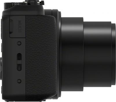 Компактный фотоаппарат Sony Cyber-shot DSC-HX50 (черный) - вид сбоку