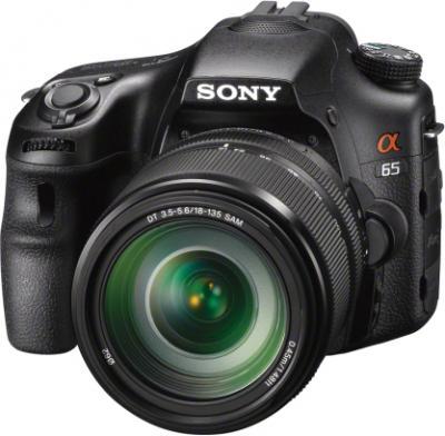 Зеркальный фотоаппарат Sony Alpha SLT-A65M - общий вид