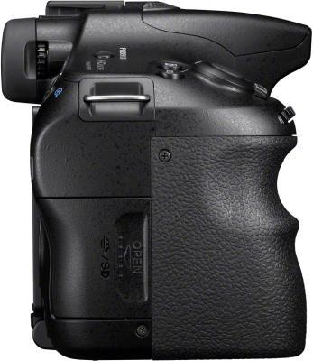 Зеркальный фотоаппарат Sony Alpha SLT-A65Y - вид сбоку