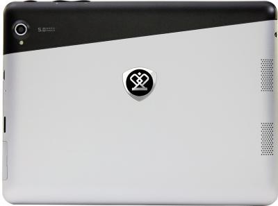 Планшет Prestigio MultiPad 2 Pro Duo 8.0 3G (PMP7380D3G_DUO Black-Silver) - вид сзади
