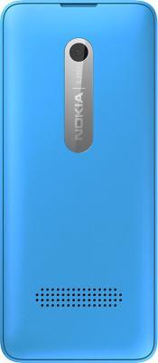 Мобильный телефон Nokia 301 Dual (Cyan) - задняя панель