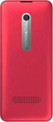 Мобильный телефон Nokia 301 Dual (Fuchsia) - звдняя панель