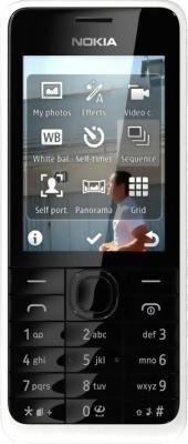 Мобильный телефон Nokia 301 (White) - общий вид