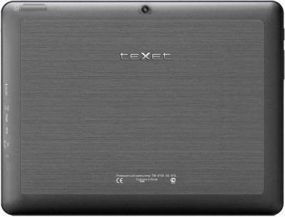 Планшет TeXet TM-9748 (8GB 3G) - вид сзади