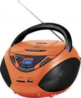 Магнитола BBK BX108U (оранжево-черный) -