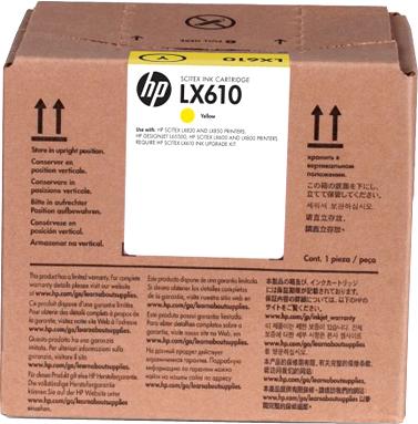 Картридж HP LX610 (CN672A) - общий вид