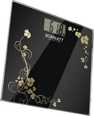 Напольные весы электронные Scarlett SC-218 (Black) - общий вид