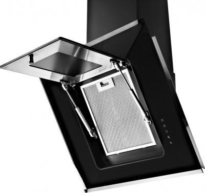 Вытяжка декоративная Pyramida BT-600 (черный) - жироулавливающий фильтр
