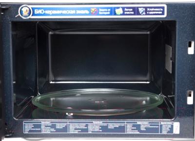 Микроволновая печь Samsung MG23F302TAS - вид изнутри