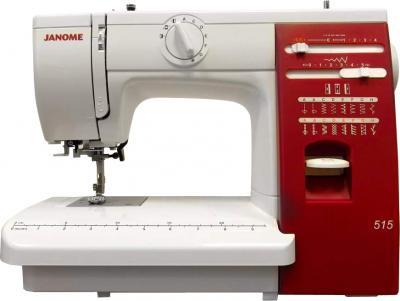 Швейная машина Janome 515 - общий вид