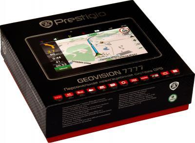 GPS навигатор Prestigio GeoVision 7777 (PGPS7777CIS8GBNV) - коробка