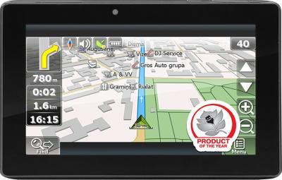 GPS навигатор Prestigio GeoVision 7777 (PGPS7777CIS8GBNV) - фронтальный вид