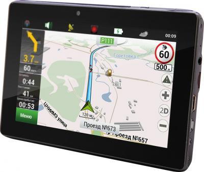 GPS навигатор Prestigio GeoVision 7777 (PGPS7777CIS8GBNV) - общий вид
