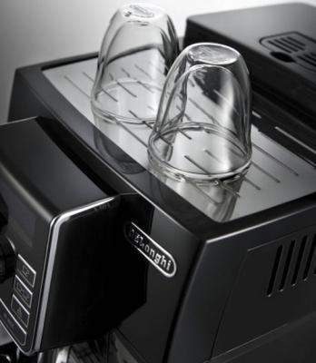 Кофемашина DeLonghi ECAM 25.452.B - подставка для подогрева чашек