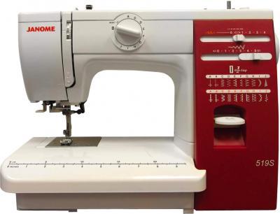 Швейная машина Janome 519S - общий вид