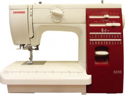 Швейная машина Janome 523S - общий вид
