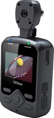 Автомобильный видеорегистратор QStar A9 Phantom 16Gb - дисплей