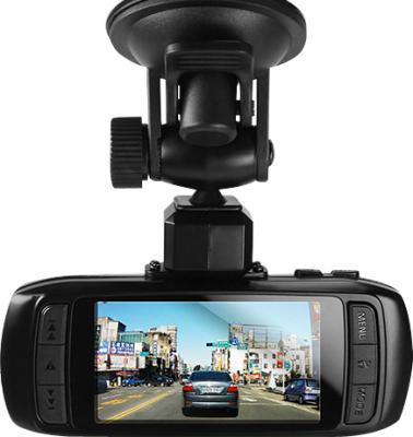 Автомобильный видеорегистратор DOD LS400W - дисплей