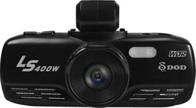 Автомобильный видеорегистратор DOD LS400W - фронтальный вид