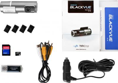 Автомобильный видеорегистратор BlackVue DR400G-HD II - комплектация