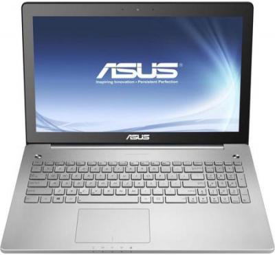 Ноутбук Asus N550JV-CN027D - фронтальный вид
