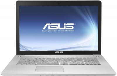 Ноутбук Asus N750JV-T4058H - фронтальный вид