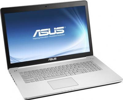 Ноутбук Asus N750JV-T4058H - общий вид