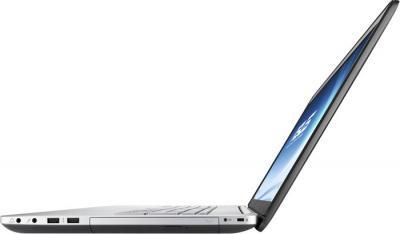 Ноутбук Asus N750JV-T4058H - вид сбоку